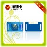 Tarjeta NFC irregular inteligentes RFID con el agujero perforado