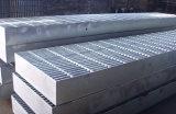 Reja llana galvanizada del suelo de acero