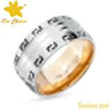 Anéis artificiais do aço inoxidável das senhoras da forma Str-016