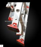 Стандартный универсальный телескопичный алюминиевый трап En131 для конструкции