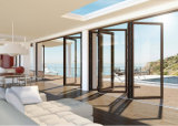 Puertas de cristal plegables de Frameless en China