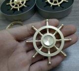 Hot Sell Pirate Pure Cobre Fidget Spinner Spinner de mano Spinner de dedo