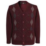 As lãs Bn1547 e o luxo e a garganta misturados iaques de Warmv fizeram malha a camisola feita malha do casaco de lã