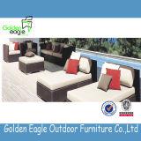 Lounger grande de Sun do tamanho com o coxim confortável e Colorfast