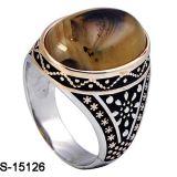 925 echte Zilveren Ring voor de Levering voor doorverkoop van de Fabriek van de Mens
