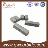 Gesoldeerde het Draaien van het wolfram Carbide Tussenvoegsels A10 A12 A16