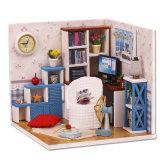 New Kid DIY House Cute Miniature en bois Toy