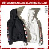 Новый способ Hoody пуловера пробела оптовой продажи Longline конструкции для сбывания (ELTHSJ-1162)