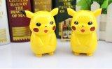 Carregador do banco da potência dos desenhos animados de Pikachu para iPhone 7 e todo o telefone