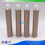 Goldenes Drucken-Aluminiumgefäß-flexibles Verpacken-Gefäß