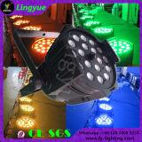 DMX 18X18W RGBWA+UV 6in1 급상승 LED 동위 64
