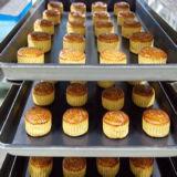 Four électrique de pleine de boulangerie crémaillère rotatoire du matériel 64-Tray avec le chariot