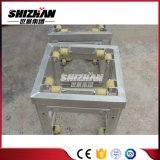 Shizhanは正方形アルミニウムボルトまたはねじトラス、中の車輪が付いている袖のブロックをカスタマイズした