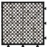 Eco Friendly Nouveau design Outdoor PS Deck Floor Tile