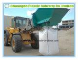Da tonelada enorme do recipiente da areia de FIBC saco grande para a indústria da construção civil