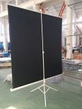 Bildschirm-Projektor des Stativ-80inch, beweglicher Art-Projektions-Bildschirm