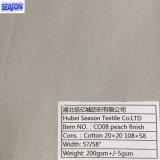 면 20*20 108*58 작업복 Textiile를 위한 190GSM에 의하여 염색되는 능직물 면 직물