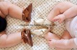 Zapatos de cuero coloridos del niño del bebé de la borla de la venta enorme