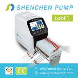 Pompa peristaltica multicanale del tubo flessibile per liquido di riempimento