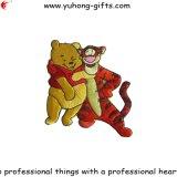 美しい動物のTシャツ(YH-EB112)のための形によって刺繍されるパッチ
