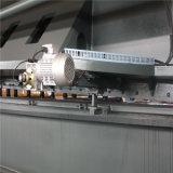 Máquina de corte hidráulica QC12k-8X3200 do CNC