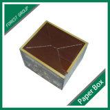 Rectángulo de empaquetado de Corurgated de la tarjeta del chocolate de lujo de la cartulina