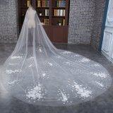 Lacet en gros de Tulle Wedding le long voile nuptiale