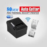 POS8220 80mm de Thermische Printer van het Ontvangstbewijs WiFi met AutoSnijder