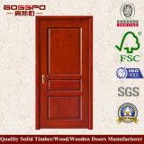 Puerta de madera interior simple del MDF de Desing (GSP6-010)