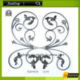 Dekoratives bearbeitetes Eisen-Blumen-Panel für Eisen-Gatter oder Eisen-Geländer