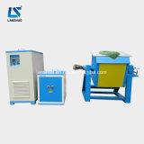 Oven van de Inductie van de Technologie IGBT de Gouden Smeltende, Uitsmeltende Machine
