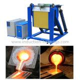 Печь топления индукции IGBT Zhengzhou Gou автоматическая опрокидывая плавя для меди 50kg/серебра/золота