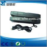 Tipo de Swip Manual Interface USB / RS232 Hi / Lo-Co Leitor / gravador de cartão inteligente magnético