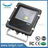 공장 가격 Ce/RoHS Brigelux 45mil 110-120lm/W LED 옥외 플러드 빛, IP65 50W 옥외 LED 플러드 점화