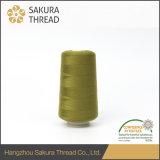 길쌈을%s 50/2 Oeko-Tex100 1 종류 폴리에스테에 의하여 회전되는 털실