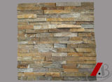 Natürlicher Schiefer-Kultur-Stein für Wand-Umhüllung
