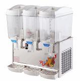 Machine froide de neige fondue de distributeur de jus de fruits de 3 cylindres