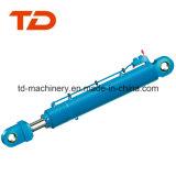 Assemblea del cilindro dell'olio idraulico del cilindro della benna di Doosan Dx190 per il mini escavatore con le parti della trasmissione del cilindro