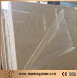 ベージュカラー水晶平板純粋なベージュカラー水晶の水晶