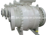 Шариковый клапан 42 дюймов установленный Trunnion