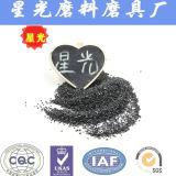 Maglia nera 16 della sabbia del carborundum