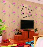 Papier peint bon marché moderne imperméable à l'eau des prix de papier de mur de décoration de mur