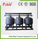 Filtro medio bajo del acero de carbón para el tratamiento de aguas industrial