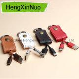 Cabo do USB de transferência de dados de Keychain do cabo do telefone móvel