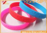 Fashion Customed Silicone Bracelet Logo Silicone Ban Wristband of Rubber Wristband Jewelry (YB-WB-182)