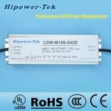100W imperméabilisent le gestionnaire extérieur du bloc d'alimentation DEL de contrôle de calage IP65/67