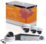 Супер легкие домашние наборы PLC системы безопасности 4CH - радиотелеграф системы камеры слежения камеры NVR IP связи линии электропередач