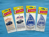 2014 perfumes del coche del ambientador de aire/ambientador de aire de papel del coche (YH-AF008)