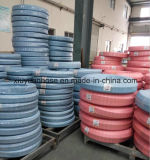 Boyau flexible de boyau tressé de pétrole hydraulique de la fibre SAE100r3