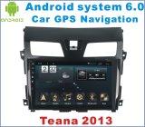 Lecteur DVD de véhicule de l'androïde 6.0 pour Nissans Teana 2013-2016 avec le véhicule GPS